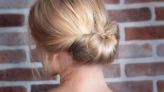 getlinkyoutube.com-Tutoriel coiffure : Chic, facile et rapide pour les fêtes de fin d'année !