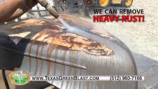 getlinkyoutube.com-Texas Green Blast Services Demo Video - Central Texas Dustless Blasting