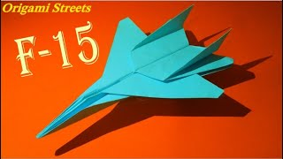 getlinkyoutube.com-Как сделать самолёт из бумаги. Оригами самолёт. Origami plane
