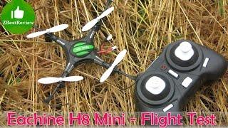 getlinkyoutube.com-✔ Eachine H8 Mini - Полеты и вывод по квадрокоптеру! Banggood