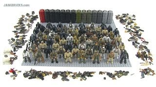getlinkyoutube.com-Mega Bloks Call of Duty minifigs collection! 65+ & counting