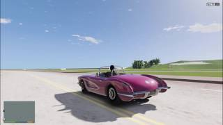 Flying to Vice City in GTA V Exclusive Gameplay