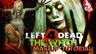 getlinkyoutube.com-Left 4 Dead: The Witch ☠ A Horror Makeup Tutorial ☢ | AUDFACED