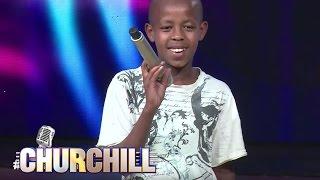 getlinkyoutube.com-Young Juma, aspiring  actor/comedian on Churchillshow