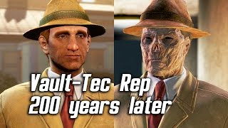 getlinkyoutube.com-Fallout 4 - Meeting Vault-Tec Representative 200 Years Later