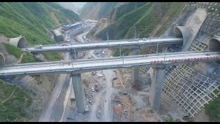 getlinkyoutube.com-Railway Tunnel with China's Biggest Cross Section Completed in NW China