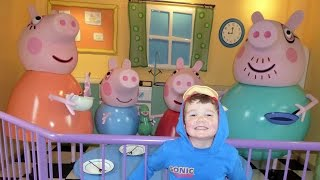 getlinkyoutube.com-Peppa Pig World  ALL RIDES AND ATTRACTIONS at Paultons Theme Park