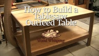 getlinkyoutube.com-30 - How to Build a Tablesaw Outfeed Table