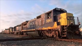getlinkyoutube.com-Railfanning the NS Tower CP CSX Toledo Sub Lima Ohio