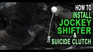 How To Install Jockey Shifter & Suicide Clutch - TJ BRUTAL CUSTOMS