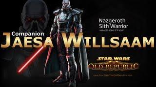 getlinkyoutube.com-SWTOR: Sith Warrior - Jaesa Willsaam Romance Conversations
