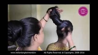 getlinkyoutube.com-ILHW Rapunzel Ganga Hairstyling by Rapunzel Shobha