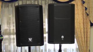 getlinkyoutube.com-RCF HD 32-A, JBL PRX615m, and EV ZXA5 Comparison