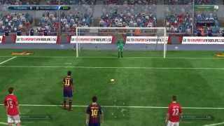 FIFA ONLINE 3 - FC Barcelona VS Manchester United - 4:0