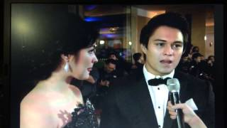 getlinkyoutube.com-Liza Soberano and Enrique Gil LIZQUEN Star Magic Ball