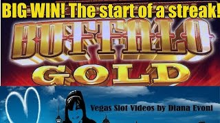getlinkyoutube.com-BIG WIN! BUFFALO GOLD SLOT MACHINE