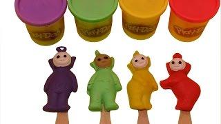 getlinkyoutube.com-Play Doh Teletubbies Ice Cream Playdough
