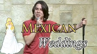 getlinkyoutube.com-Stand Up Comedy by Nick Guerra - Mexican Weddings