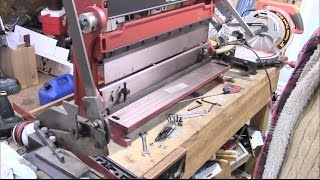 Combination Shear, Press Brake and Slip Roll, First Look