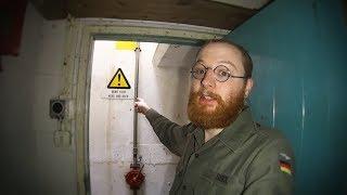 getlinkyoutube.com-Abandoned Cold War Nuclear Bunker (Bunker & Tunnel Exploring)