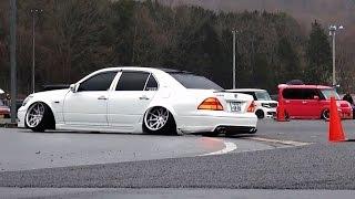 getlinkyoutube.com-【搬出動画①】 エキサイトキング バニング VIPカー シャコタン 車高短 Lowered exhaust Low car