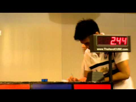 2x2x2 Official AsR Average 2.72 seconds