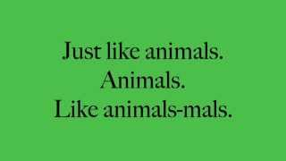 getlinkyoutube.com-Animals Maroon 5 Lyrics   YouTube