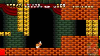 getlinkyoutube.com-Super Mario Bros.3 X,Walkthrough,Part 12,Bowser's Castle,World 9