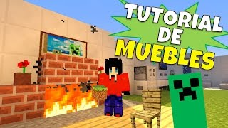 getlinkyoutube.com-Minecraft:Super Tutorial de Muebles, Sin Mods + Cuarto Secreto :)