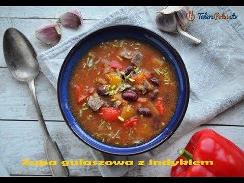 Zupa gulaszowa z indykiem