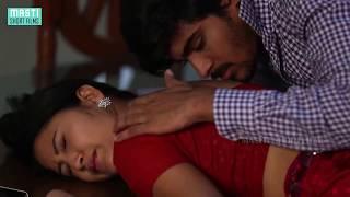 Hot Red Saree Mamatha's Back Enjoyed | B-grade Telugu Short Film