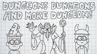 """Dungeons Dungeons and More Dungeons"" Gravity Falls Episode Review"