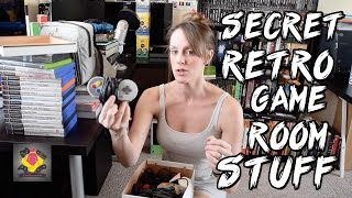 Retro Games Room Secret Side - Retro Gaming & items YOU DON'T SEE | TheGebs24