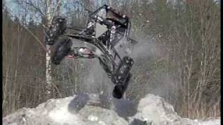 getlinkyoutube.com-first flip with my sandrail (snowrail:)