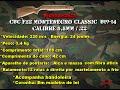 Avaliação da carabina de pressão CBC F22 Montenegro Classic B19-14 5,5mm(.22)