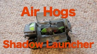 getlinkyoutube.com-Air Hogs Shadow Launcher Review, 2 in 1 RC Helicopter and Car