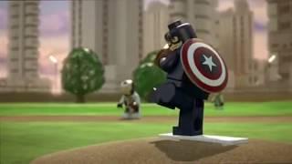 getlinkyoutube.com-Lego Marvel Superheroes The Avengers Age of Ultron full story and Lego sets