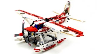 getlinkyoutube.com-Lego Technic 42040 Fire Plane Speed Build
