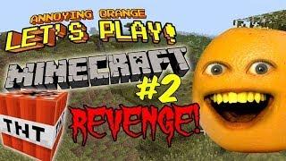 getlinkyoutube.com-Annoying Orange Let's Play Minecraft #2: TNT Revenge!!!