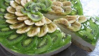 getlinkyoutube.com-Творожный торт с фруктами