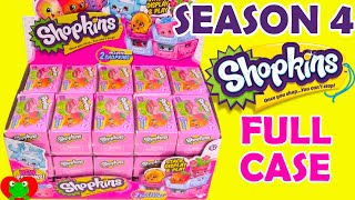 getlinkyoutube.com-Shopkins Season 4 FULL CASE 30 Crates Baskets with 8 Ultra Rare Finds