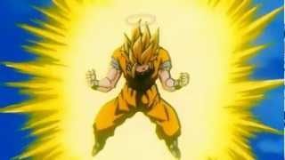 getlinkyoutube.com-Goku goes Super Saiyan 3 For The First Time [HD 1080p]