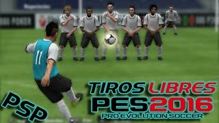 getlinkyoutube.com-PES 14/16 PSP TUTORIAL | Tirar tiros libres