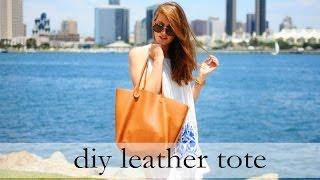 getlinkyoutube.com-How to Sew a Leather Tote