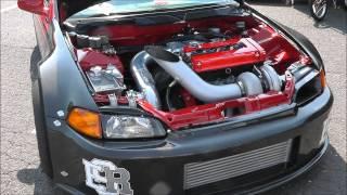 getlinkyoutube.com-Englishtown Import Summer Slam 2012 - Dynamic Performance (DP) Sport FWD 4 Car Compilation