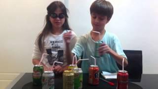 getlinkyoutube.com-Desafio do refrigerante com Rick e Carol Santina