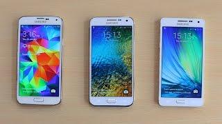getlinkyoutube.com-Samsung Galaxy A5 vs Galaxy E5 vs Galaxy S5 Speed Test