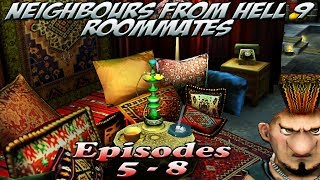 getlinkyoutube.com-Neighbours From Hell 9 Roommates - Episodes 5-8 [100% walkthrough]
