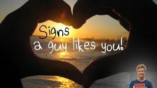 getlinkyoutube.com-25 Real Signs a Guy Likes You