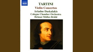 Violin Concerto in G Major, D. 80: I. Allegro ma non presto